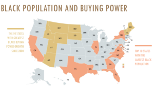 """<img src=""""blackpopulation&buyingpower"""".png"""" alt="""" The Impact Of Black Buying Power on Consumer Categories """">"""
